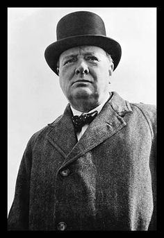 Prime Minister Winston Churchill of Great Britain