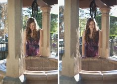 Senior Portraits at Disneyland | Snippets from Suburbia like these shots