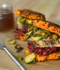 "Paleo Thanksgiving Leftovers ""Sandwich"" | stupid easy paleo"