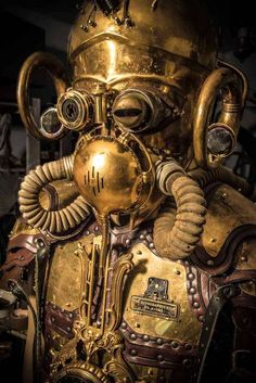 Steampunk Artwork: Steampunk Objekte, Kleidung, Requisiten, Stage Props