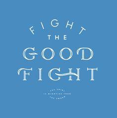 Dribbble - ISSSUE_J_FLETCHER_GOOD_FIGHT.jpg by J Fletcher Design