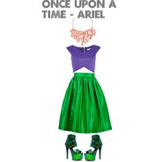 "Disney Bound |  ""Disneybounding Once Upon a Time - Ariel"" by nuhaa on Polyvore"
