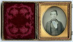 1 6 Plate Daguerreotype Photo Portrait of A Young Handsome Man   eBay