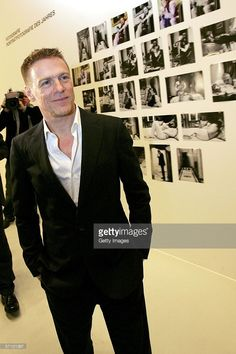 Singer Bryan Adams poses in front of his pictures during the LEAD Awards 2006 at the Deichtorhallen on March 15, 2006 in Hamburg, Germany. Adams, who takes a photo story of Mickey Rourke will receive the award for best portraiture.
