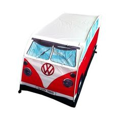 VW Camper Pop Up Play Tent (Red)