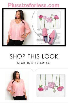 """Plussizeforless (5) - 2/10"" by amilasahbazovic ❤ liked on Polyvore featuring Oliver Gal Artist Co. and Keds"