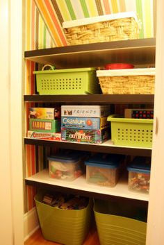 Although it's still very emtpy, the concept is more practical than a lot of toy closet plans i've seen on pintrest.