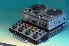 NAGRA - Tape Recorder - Magnetophone - Remix Numerisation - www.remix-numerisation.fr