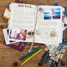 Comment faire un carnet de voyage ? C'est très simple, cela permet à entraîner son mémoire et raconter ses souvenirs en détails !