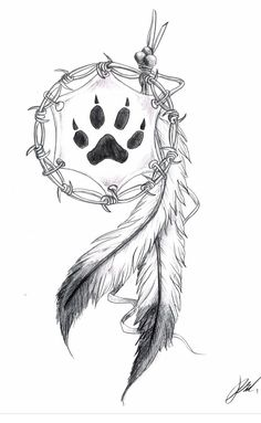 45 Creative Tattoo Drawings For Your Inspiration; thick tattoo… 45 Creative Tattoo Drawings For Your Inspiration; Atrapasueños Tattoo, Body Art Tattoos, Print Tattoos, Small Tattoos, Tatoos, Wolf Print Tattoo, Faith Tattoos, Quote Tattoos, Music Tattoos
