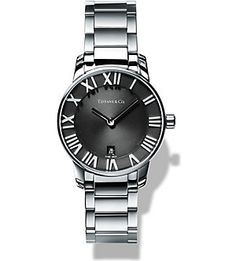 TIFFANY & CO Atlas® 2-Hand 29mm women's watch in stainless steel