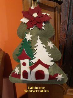 Diy Christmas Angel Ornaments, Felt Ornaments, Christmas Angels, Christmas Stockings, Christmas Decorations, Xmas, Holiday Decor, Simple Christmas, Christmas Crafts