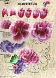 Donna Dewberry Reusable Teaching Guide Rose   eBay