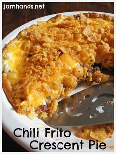Chili Frito Crescent Pie on MyRecipeMagic.com