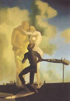 Méditation sur la Harpe (1934)  Salvador Dalí.