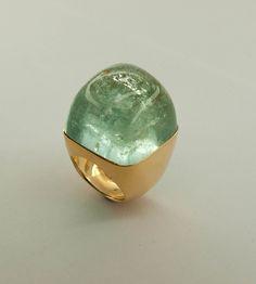 Aquamarinring Gemstone Rings, Gemstones, Jewelry, Ring, Jewlery, Gems, Jewels, Jewerly