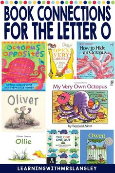 Do your pre-school or kindergarten students struggle when learning the LETTER O? Are you looking for proven activities that will actually help students master the alphabet? I can help! Immerse your students in a letter a day or week to quickly gain fluency in the alphabet. These lessons focus on recognizing the letter O and the initial vowel sound and include detailed lesson plans, rhyming activities, math and science activities, art activities, and more! Rhyming Activities, Science Activities, Alphabet Book, Learning The Alphabet, Letter Identification, Letter To Parents, Teaching Letters, Small Letters, Picture Cards