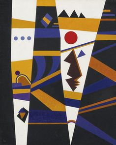 Kandinsky, Wassily bindung (binding | abstract | sotheby's Painted in May 1932.