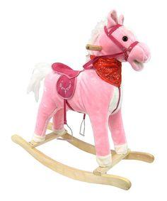 Pink Music Rocking Horse