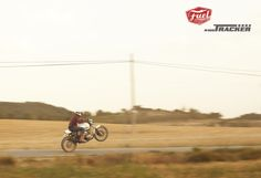 Wheelie with the Tracker!