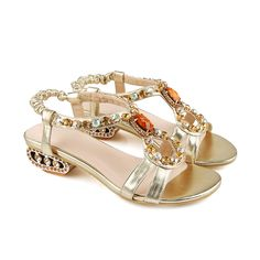 Find More Flats Information about Fashion new 2015 summer shoes women sandal for women Gold & blue Reinstone Flat sandal Girl women sandy beach Free Shipping,High Quality shoes hat,China sandal dress Suppliers, Cheap shoe brooch from Good-seller on Aliexpress.com
