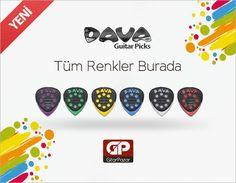 Her genreye özel yenilikçi penalar üreten Dava stoklarımızda! http://www.gitarpazar.com/dava