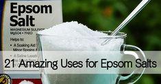 21 Uses for Epsom Salts