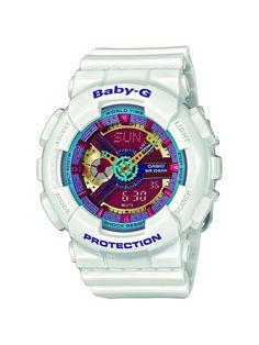 6f240568174d Casio Baby-G - Montre Femme Analogique Digital avec Bracelet en Résine -  BA-112-7AER  Amazon.fr  Montres