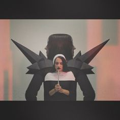 Another sin.  #toodeadtodie #anothersin #musicvideo #goth #gothic #gothicgirl #nun #fashion #amen #amenfashion #ahs #americanhorrorstory #art #sin #avantgardefashion #avantgarde