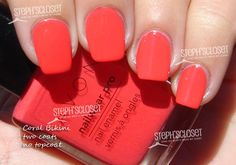 Coral Bikini...ABSOLUTELY love this on my toes for the summer!