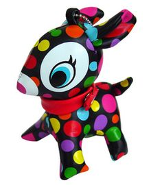 The Puchi Babie (Vivid coloured polka dots)