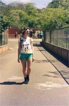 Domingo, sol e zoológico - Tudo Make – Maior blog de maquiagem, beleza e tutoriais de Curitiba.
