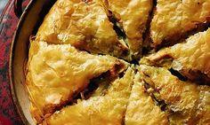 Rick's Mediterranean marvels:Greek chicken pie (kotopita) | Daily Mail Online