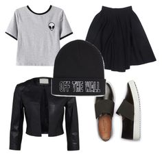 """Без названия #8"" by daria0151212 on Polyvore featuring мода, Chicnova Fashion, Le Mont St. Michel и Vans"