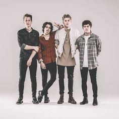 James, Bradley, Tristan, Connor de THE VAMPS