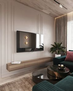 Project Raft on Behance Living Room Tv, Living Room Modern, Interior Design Living Room, Living Room Designs, Home Room Design, House Design, Home Decor, Behance, Contemporary Kitchens