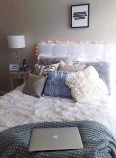 Dorm Room Pink And Grey Single.Dormify Classically Cozy Room Shop Dormify Com To Get . 86 Awesome Dorm Room College Decor Ideas And Design 83 . Home Design Ideas Dream Rooms, Dream Bedroom, Home Bedroom, Girls Bedroom, Master Bedroom, Bedroom Decor, Bedroom Design For Teen Girls, Cozy Teen Bedroom, Bedroom Ideas For Small Rooms Women