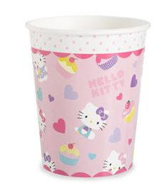 hello kitty® paper cups (set of 12) - Chasing Fireflies