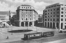 TRIESTE-ITALY Piazza Oberdan - tram