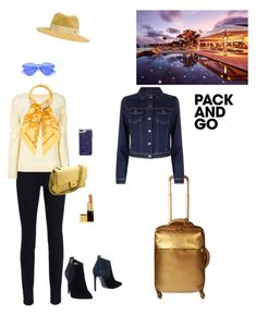 """""""Untitled #660"""" by jesica-d-psc ❤ liked on Polyvore featuring Lipault, J Brand, Chloé, Marco Barbabella, Chanel, Hermès, Maison Michel, Rebecca Minkoff, Tom Ford and parisfashionweek"""