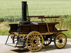 Steam Car | Salvesen Steam Car '1896 #Antiques
