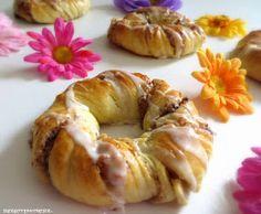 Rezepte mit Herz: Apple Walnut Danish ♡ Apfel - Walnuss - Kringel