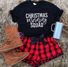 Christmas Morning Squad, Squad Shirts, Family Christmas Shirts, Christmas Morning Shirts- Tshirt