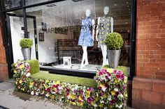 Our RHS Chelsea Flower Show window display!