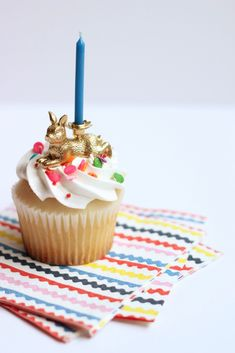 Party Animals Cupcake Topper DIY Kit: Easter Bunny — Hank and Hunt Party Crafts