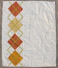 Modern Argyle Quilt Pattern PDF Digital by ModernOrganicQuilter, $9.00