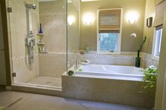 Gorgeous shower stall curtains in Bathroom Tropical with Separate Shower And Bath next to Shower Tub Combo alongside Separate Toilet Room and Shower Bath Combo
