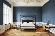 Rich Blues Are So Inviting In This Copenhagen Hotel Nobis