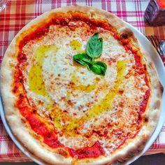 A legítima pizza margherita 👌
