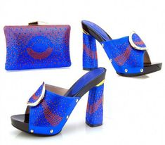 d31c79a28122 Hot Artist New Arrival Italian Shoes With Matching Bag Set For Wedding  Party Fashion Women Pumps
